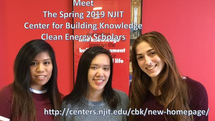 Photo of NJIT CBK's 2019 Clean Energy Scholars
