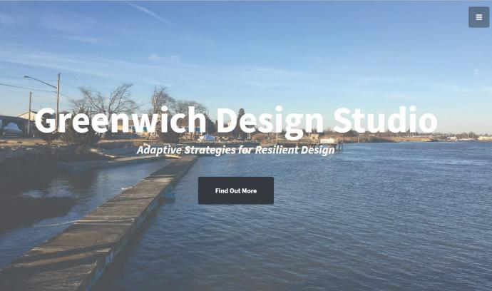 Photo of greenwichdesignstudio.org landing page