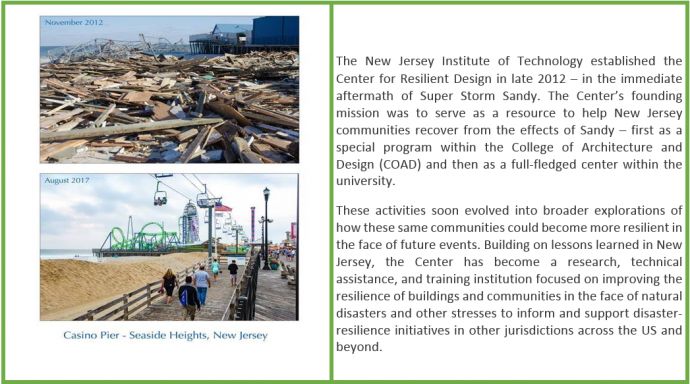 Center for Resilient Design