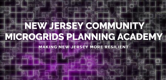Photo of New Jersey Community Microgrids Planning Academy home page
