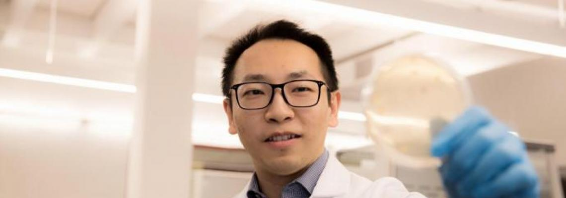 Dr. Mengyan Li, assistant professor of chemistry and environmental science