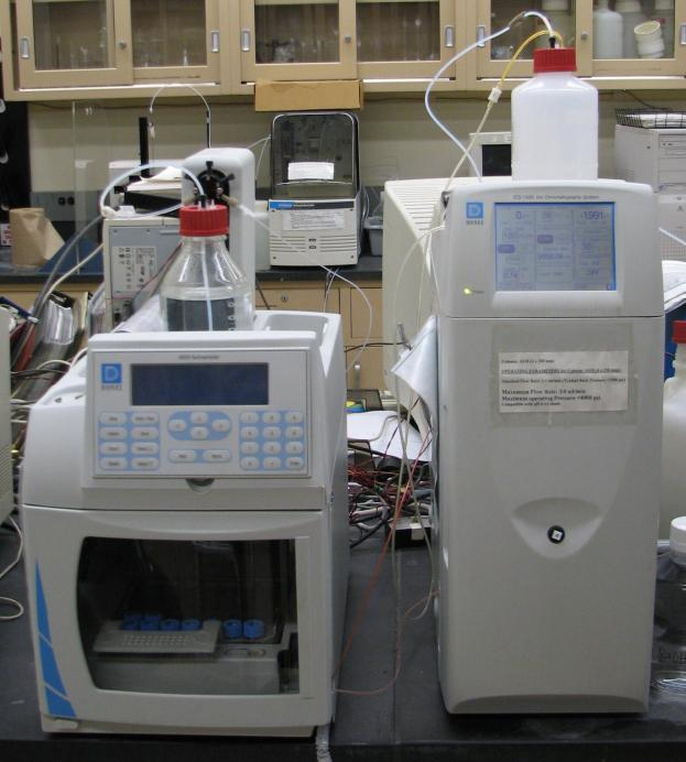 Ion Chromatograph | Otto H  York Center for Environmental